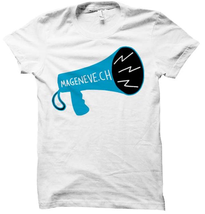 T-shirt ma Genève